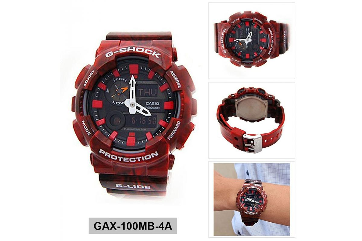 CASIO G-Shock GAX-100MB-4A G-Lide - 4/4
