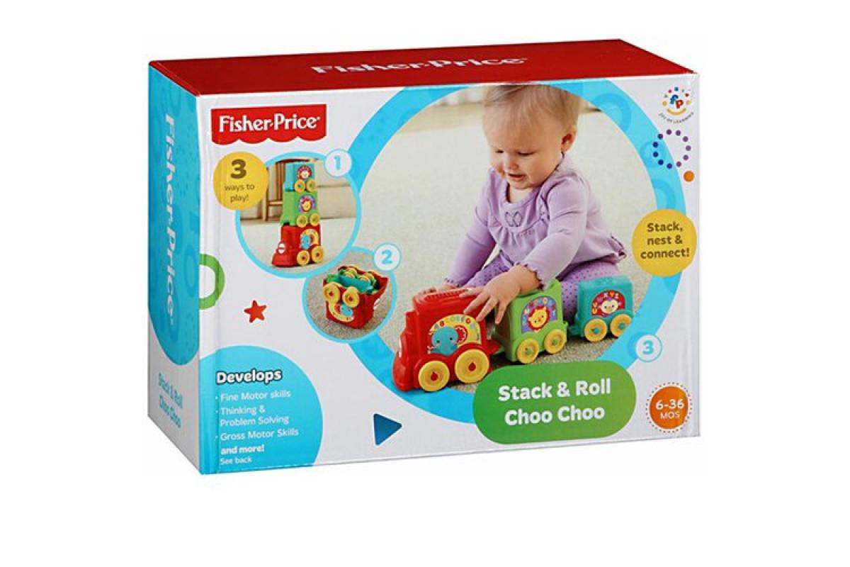 Fisher Price Stack&Roll Edu Voz Y8653 - 1/5
